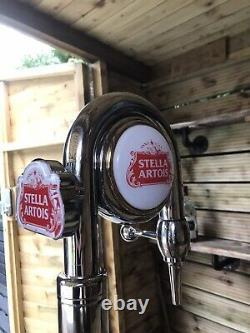 Stella Pump Full Set Up Mobile Bar Man Cave Outside Bar