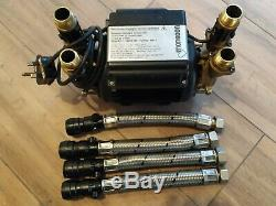 Stuart Turner Monsoon 2.0 Bar Twin Standard Shower Pump Positive 46415