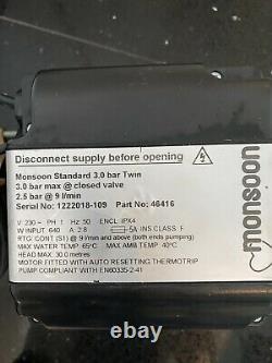 Stuart Turner Monsoon 3.0 Bar Twin Standard Shower Pump Positive 46416 3