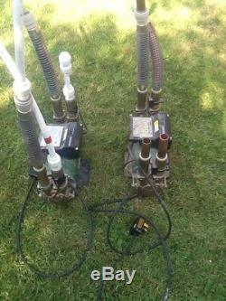 Stuart Turner Monsoon 3 Bar shower pump x 2