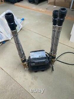 Stuart Turner Monsoon 3 bar twin 46416 shower pump only used 6 months
