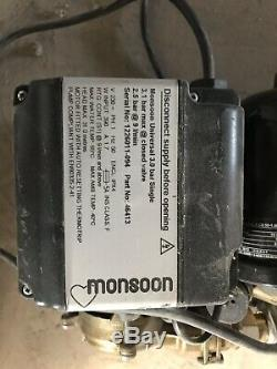 Stuart Turner Monsoon S3.0 bar whole house pump Less Than A Year Old