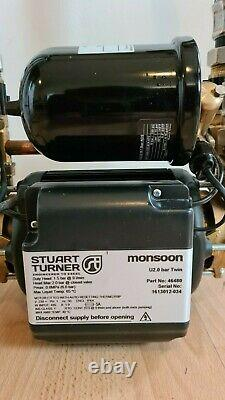 Stuart Turner Monsoon U2.0 Bar 46480 Universal Twin Shower Pump