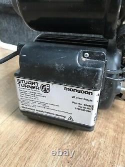 Stuart Turner Monsoon Universal 2.0 Bar Single Shower Pump 46498 RRP£300