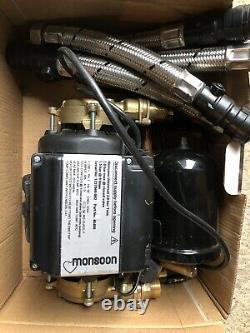 Stuart Turner Monsoon Universal 2.0 Bar Twin Pump