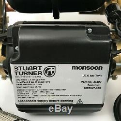 Stuart Turner Monsoon Universal 3.0 Bar Negative Head Twin Shower Pump