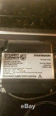 Stuart Turner Shower Pump Monsoon S3.0 Bar Twin Impeller Positive Head 46416