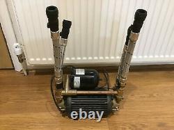Stuart Turner Shower Pump Monsoon Universal 4.5 Bar Twin Impeller Brass 46412