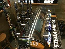 Stunning 5 font Low Line T bar beer pump