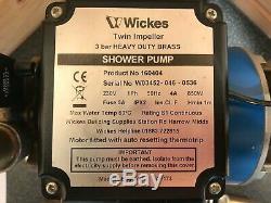 Superb Grundfos 3 Bar Positive Twin Shower Pump Stp 3.0 Amazon Wickes & Warranty