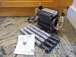 Superb Stuart Turner Monsoon 1.5 Bar Positive Twin Shower Pump & Hoses 46506