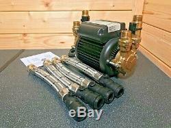 Superb Stuart Turner Monsoon 2.0 Bar Twin Standard Shower Pump Positive 46415 3