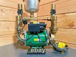 Superb Stuart Turner Monsoon 2 Bar Negative Twin Shower Pump & Hoses & Warranty