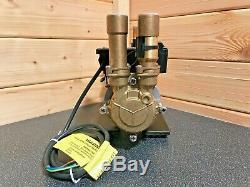 Superb Stuart Turner Monsoon 2 Bar Positive Twin Shower Pump & Hoses & Warranty