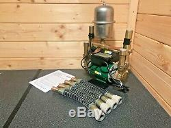 Superb Stuart Turner Monsoon 2 Bar Twin Negative Shower Pump Universal 46345