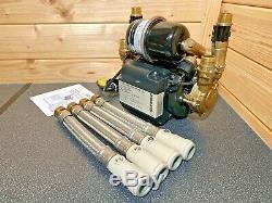Superb Stuart Turner Monsoon 3.0 Bar Twin Universal Shower Pump Negative 46410 3
