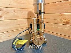 Superb Stuart Turner Monsoon 3 Bar Negative Twin Shower Pump & Hoses & Warranty