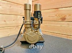 Superb Stuart Turner Monsoon 3 Bar Positive Twin Shower Pump & Hoses & Warranty