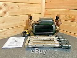 Superb Stuart Turner Monsoon 4.0 Bar Twin Standard Shower Pump Positive 46417 4