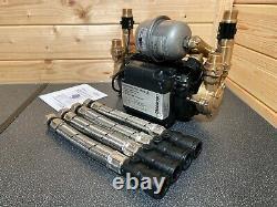 Superb Stuart Turner Monsoon 4.0 Bar Twin Universal Shower Pump Negative 46411 4