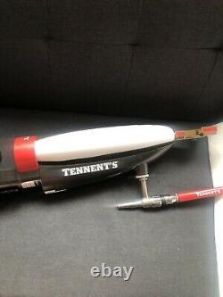 Tennent's Lager Bar Font Pump. Man Cave, Home Bar, Illuminated, Rare, Beer