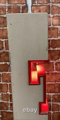 Tennents Beer Pump Concrete (Rare) / Beer Font / Pub / Bar / Mancave