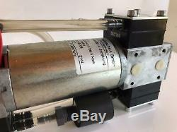 Thomas Double Diaphragm Vacuum Pump OIL FREE Single Stage LOW-NOISE 12V 2.5 Bar