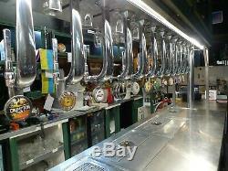 Twelve Pump Beer Font for busy Bar