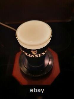 Vintage Guinness Pump lamp / Bar beer font Light Stunning