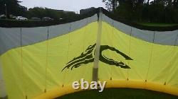 X2 Cabrinha Kitesurfing Kites 10 m & 14 m, Carbon 52 cm Bar, Cabrinha Dual Pump